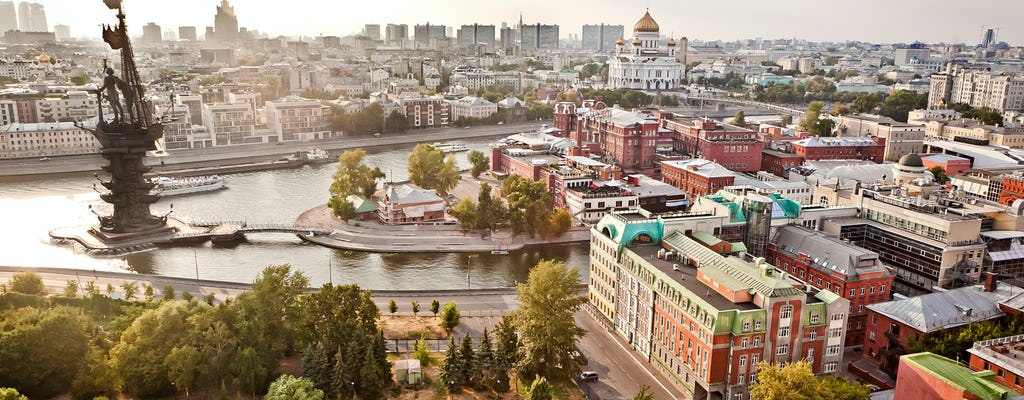 Panoramic Moscow city tour in a private vehicle