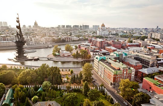 City tour panorâmico de Moscou em um veículo particular