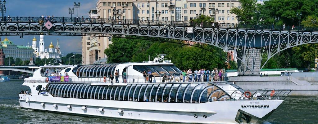 Crucero guiado por el río Moscú