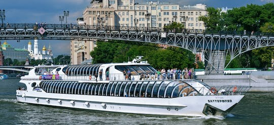 Guided Moscow River cruise