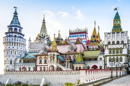 Tour privato di Mosca retrò di Izmaylovo, stazioni della metropolitana e giochi sovietici