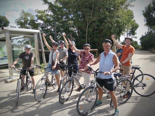 Passeio de bicicleta descida de Sitges