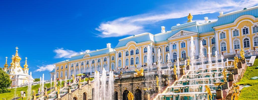 Zwiedzanie pałacu Peterhof z prywatnym przewodnikiem