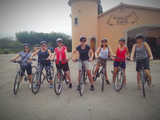 Wine bike tour from Sitges