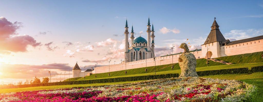 Visita a la ciudad en vehículo privado de Kazán con el Kremlin