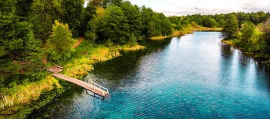 4-uur durende privé-excursie naar blauwe meren van Kazan