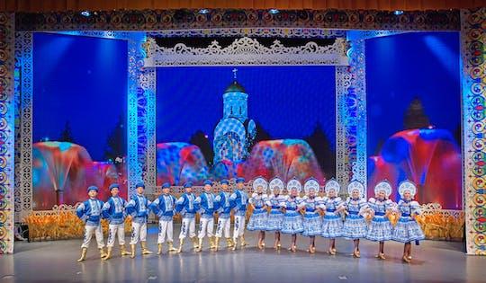 Moskiewski pokaz folklorystyczny Golden Ring