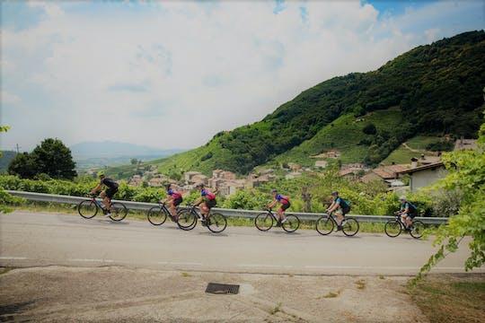 Passeio de bicicleta na rota do vinho Prosecco