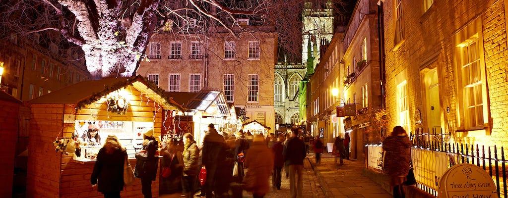 Tour a Stonehenge, Stratford, Bath y los Cotswolds con almuerzo de Navidad