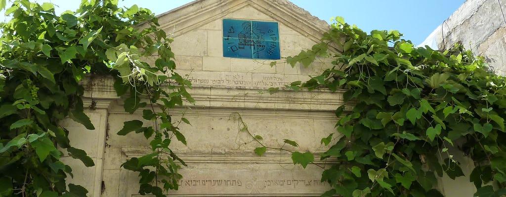 Excursão privada da herança judaica de Atenas