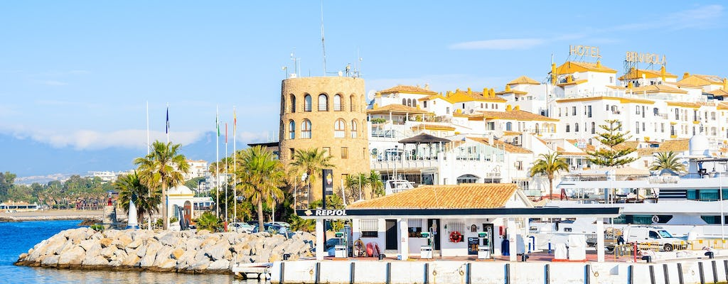 Marbella private tour from Málaga and surrounding areas