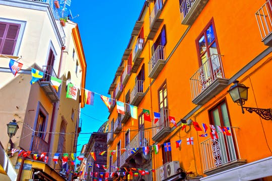 Tour autoguiado pelo centro da cidade de Nápoles