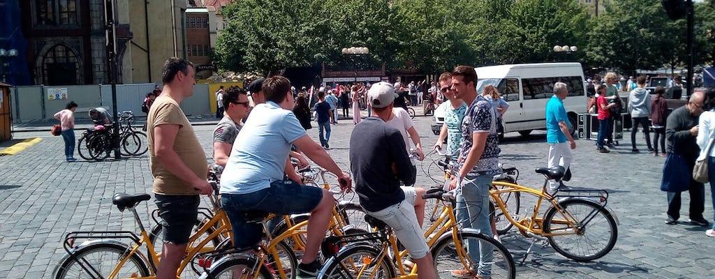 Complete bike tour through Prague