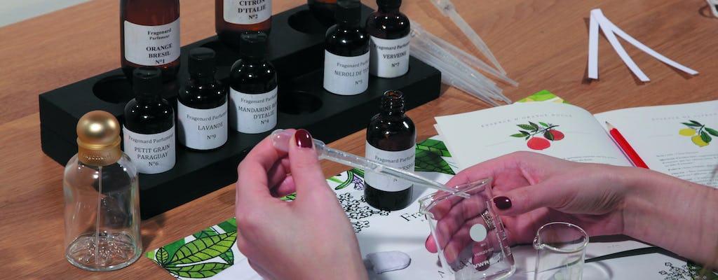 Perfume workshop at Fragonard Paris