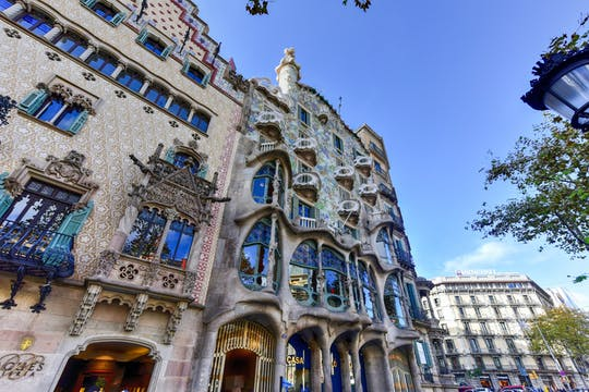 Tour privato di Casa Batlló con biglietti salta fila
