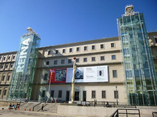 Reina Sofía Museum private tour with skip-the-line tickets and a local guide