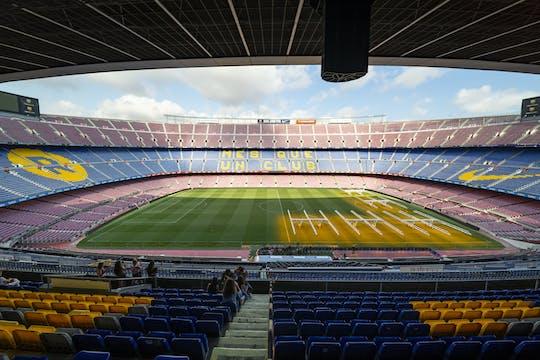 Camp Nou Tour & Barcelona Free Time