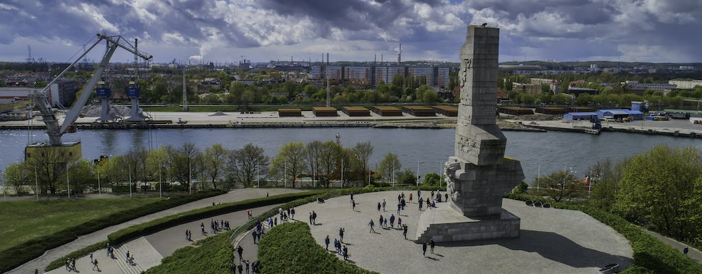 Private beginning of WWII Westerplatte tour by cruise