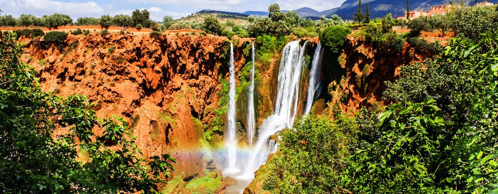 Ouzoud Waterfalls full-day trip with boat ride
