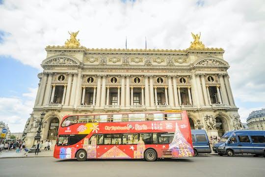 Tour em ônibus hop-on hop-off por Paris com opção de tour de barco