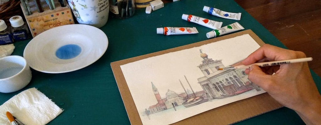 Watercolor Workshop in Venice