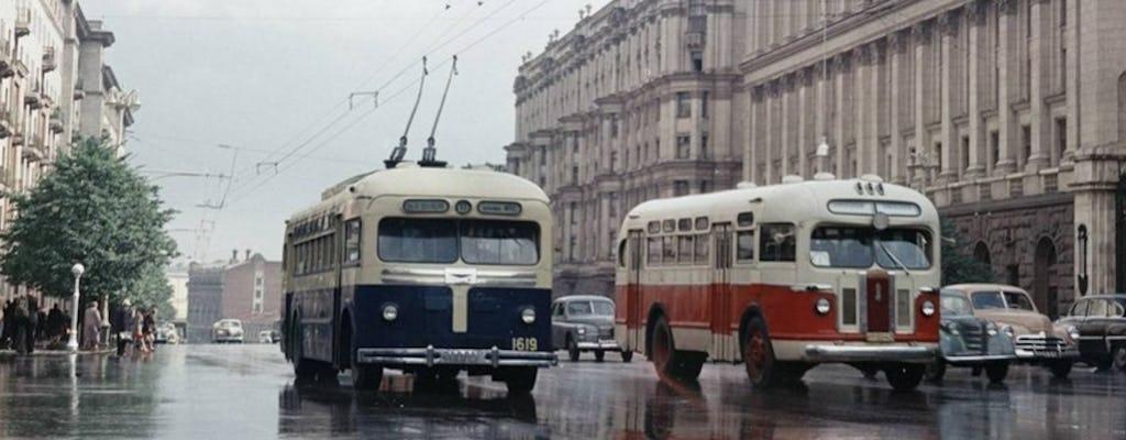 De vuelta en el recorrido a pie de la URSS