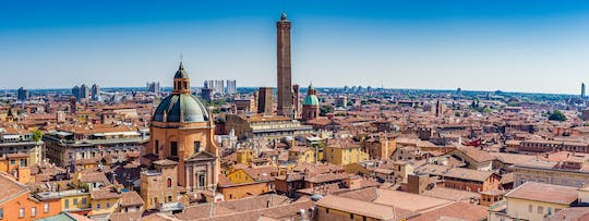 Bologna City Red Bus tour and tasting of local products