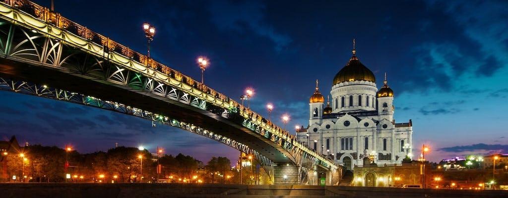 Excursión a pie por Moscú por la noche