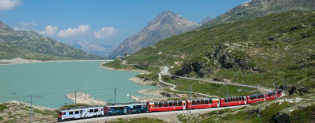 Bernina Express avec tour panoramique en calèche au départ de Milan