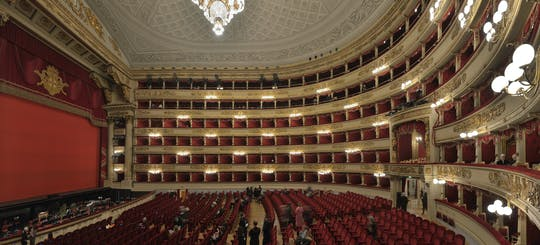Private Tour of Teatro alla Scala and Church of San Fedele