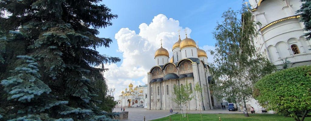 Excursão ao Kremlin de Moscou com guia de áudio