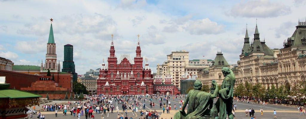 Recorrido por el mausoleo de Lenin con la necrópolis del Kremlin