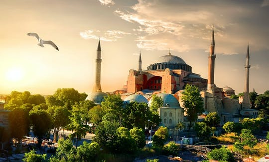 Live Guided tour to Hagia Sophia in Istanbul