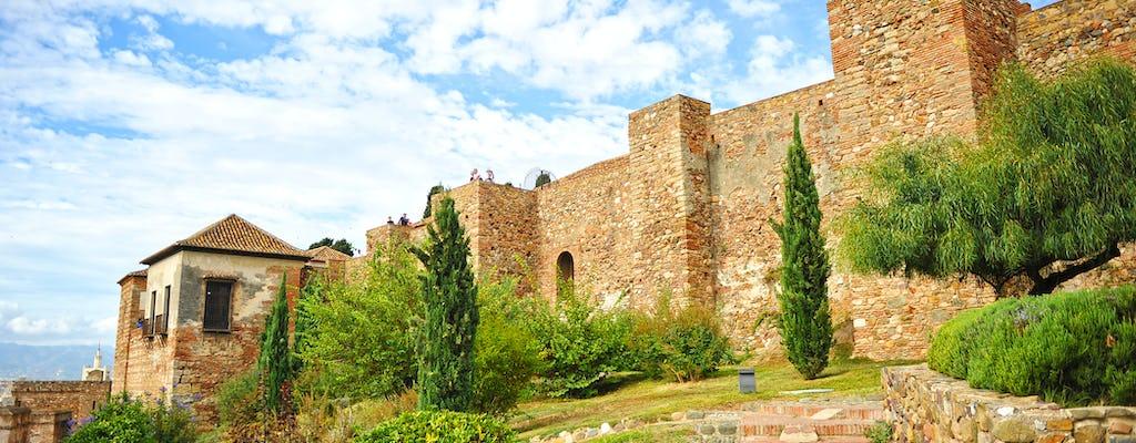 Alcazaba y teatro romano visita guiada en Málaga