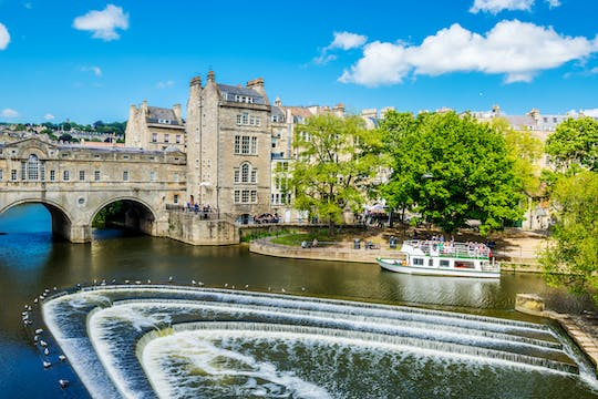 Windsor Castle and city of Bath tour