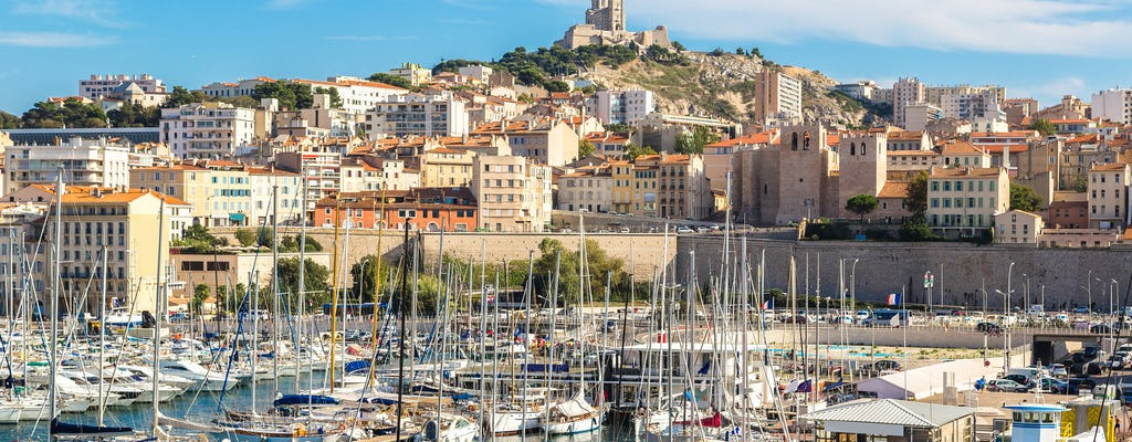 Guided walking tour of Marseille old district