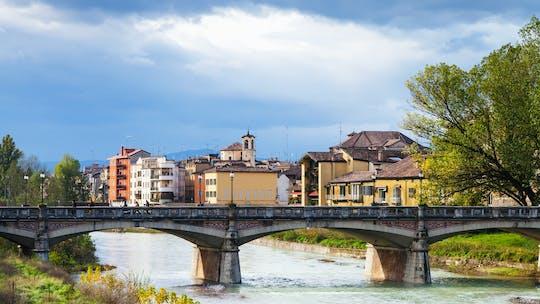 Excursão de uma hora por riquixá em Parma