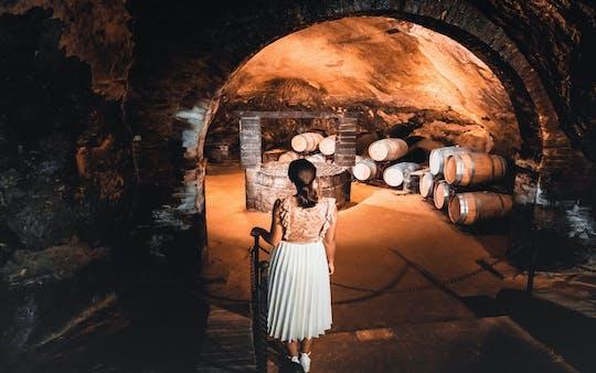 Excursão de degustação nas adegas históricas de Montepulciano