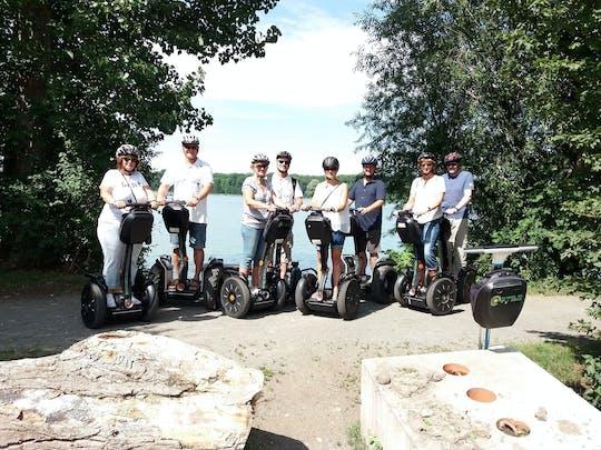 Self-balancing scooter tour lake Rötha