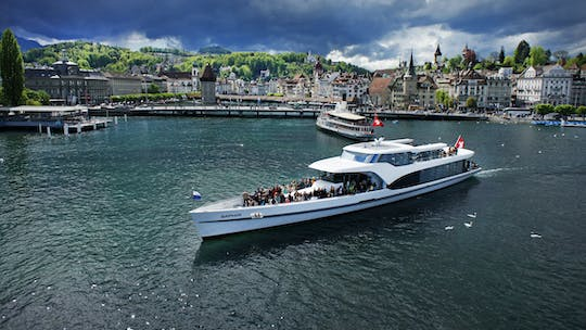 Lucerne Bay cruise on Panoramic Yacht Saphir