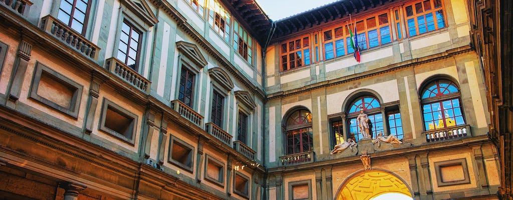 Entrada sin colas a la Galería Uffizi y visita autoguiada mediante app