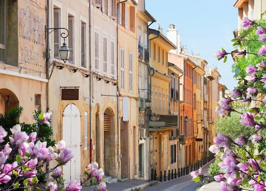 Tour privado a pie de Aix-en-Provence