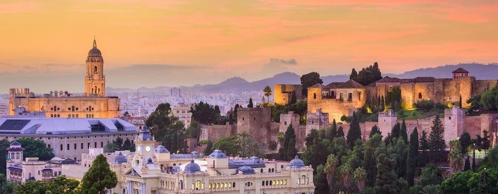 Visita a pie al atardecer por Málaga