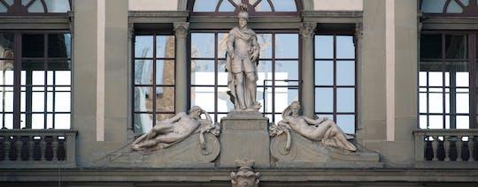 Accademia en Uffizi skip-the-line tickets en zelfgeleide bezoek-app