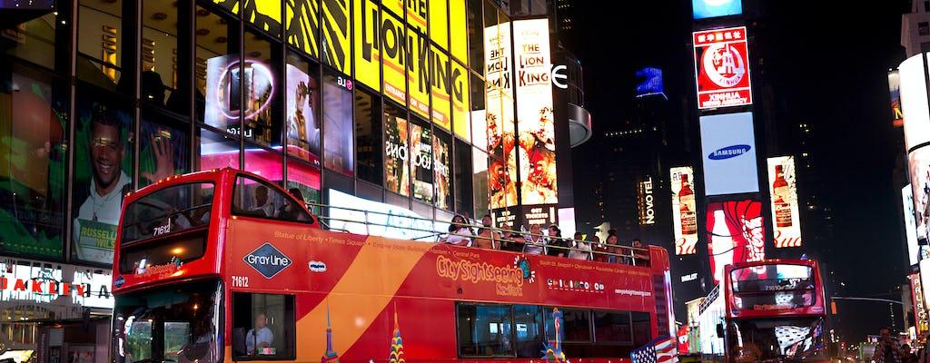 Ночная автобусная экскурсия по Нью-Йорке