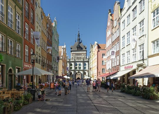 Self-guided tour of Gdansk with audioguide