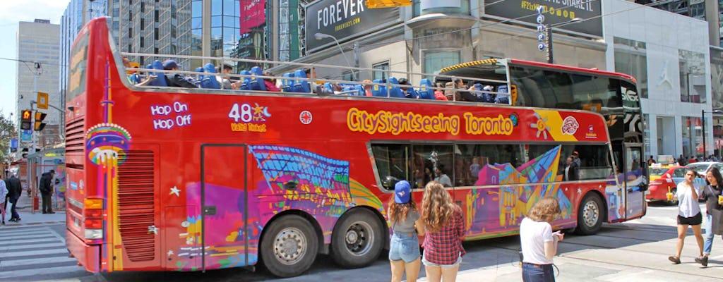Hop-on hop-off bus tour of Toronto