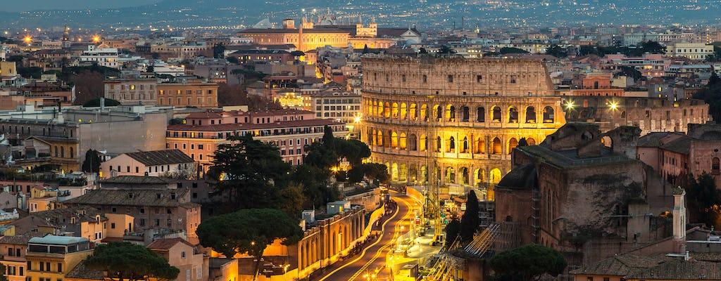 Roma por la noche E-Bike tour