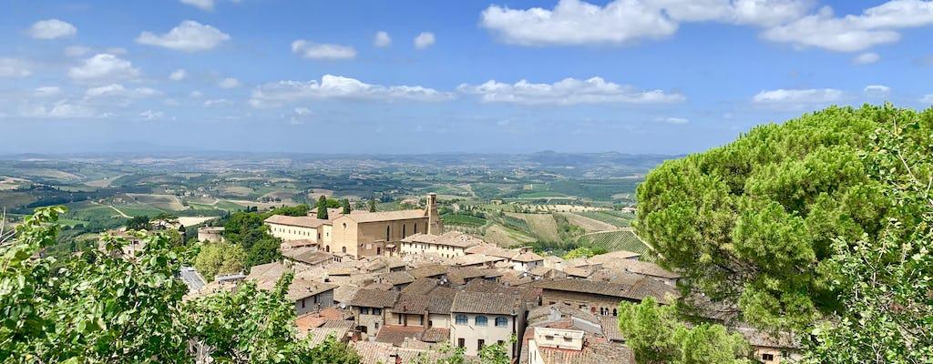 Siena, San Gimignano, Monteriggioni and Chianti tour with wine tasting and lunch