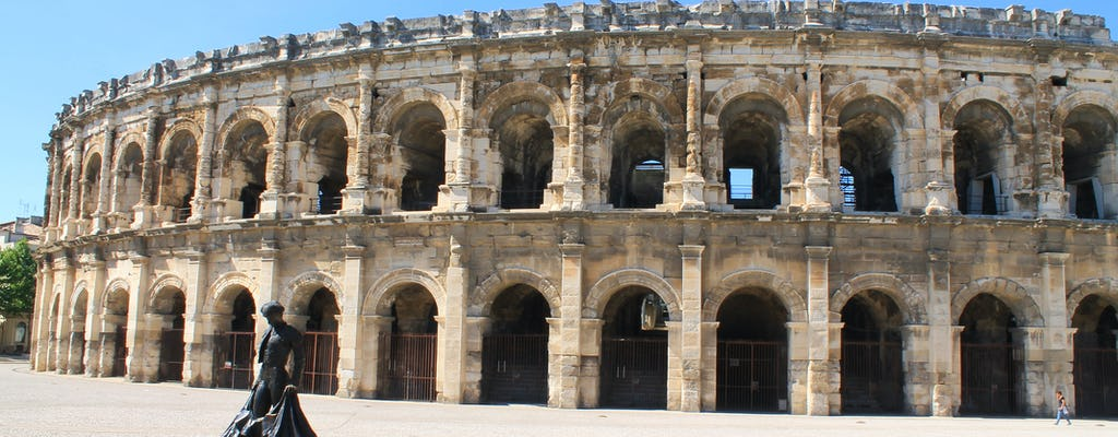Private walking tour of  Nîmes historical center